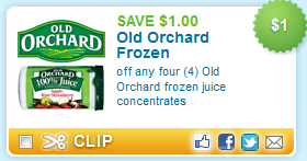 old orchard coupon Printable Juice Coupons   Old Orchard, Healthy Balance, Minute Maid and More