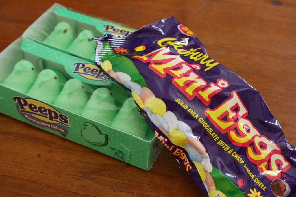 peeps cadbury 1024x682 Allergy Friendly Easter Treats
