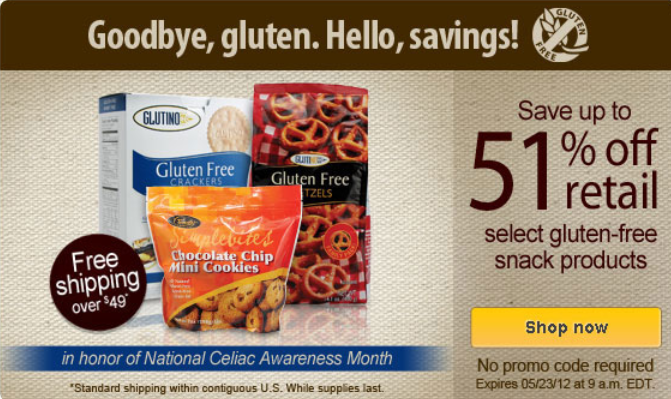vitacost gluten free deals 51% off Gluten Free at Vitacost.com (Plus $10 Free Credit!)
