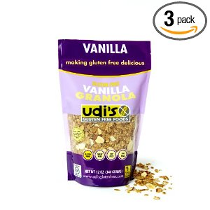 udis gluten free granola amazon deal image Amazon Deal: Udis Gluten Free Vanilla Granola less than $5 each!